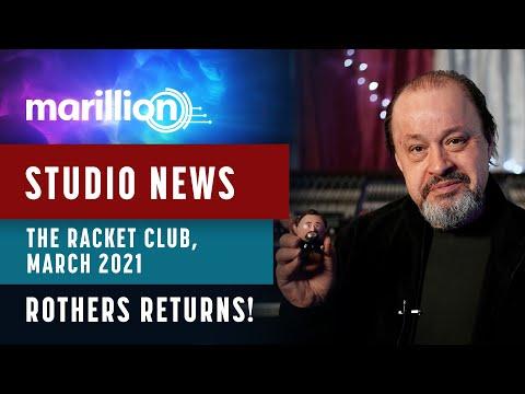 Marillion - Studio News - March 2021