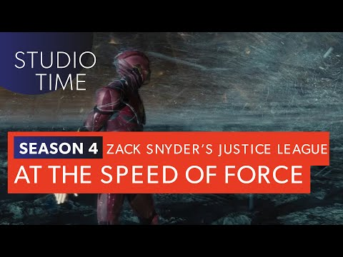 AT THE SPEED OF FORCE | Zack Snyder's Justice League [Studio Time: S4E4]