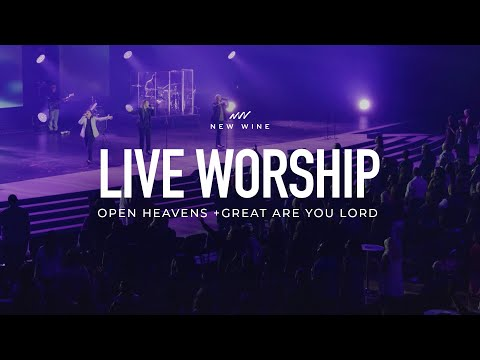 Open Heavens + Great Are You Lord (Spontaneous) Live in Dallas, Global Prophetic Conference