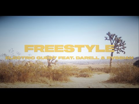 Electric Guest - Freestyle ft Darell & Rvssian (Lyric Video)