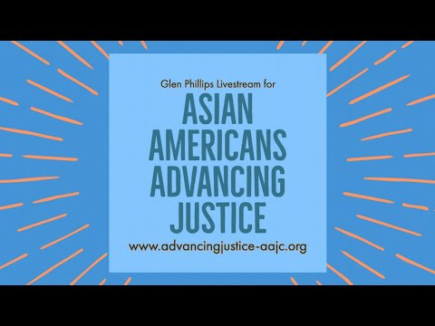 Livestream for Asian Americans Advancing Justice