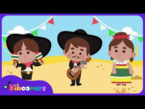 Cinco de Mayo Song | The Kiboomers | Songs for Kids | Dance Songs | Baby Songs
