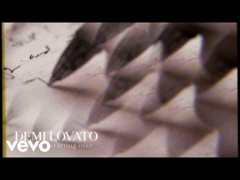 Demi Lovato - The Art Of Starting Over (Visualizer)