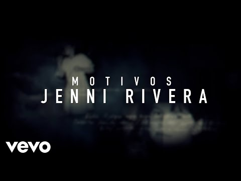 Jenni Rivera - Motivos (Versión Banda - Official Lyric Video)