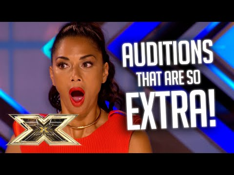 OMG! Most EXTRA Auditions! | The X Factor UK