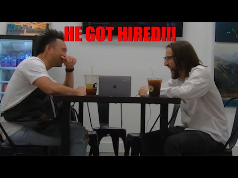Rapping At Job Interview!