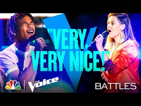 "Cam Anthony vs. Emma Caroline - Dan + Shay and Justin Bieber's ""10,000 Hours"" - Voice Battles 2021"