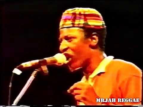 Afriki - Alpha Blondy  LIVE in LOS ANGELES, USA 1988