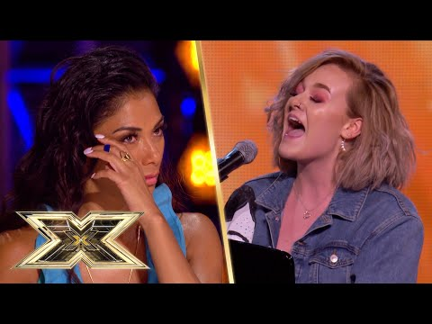 The Judges are IN TEARS! Grace shares all in this original song | The X Factor UK