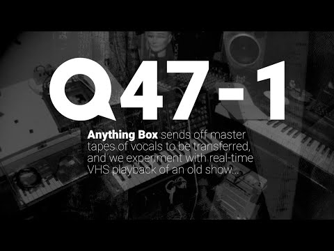 Anything Box | #Quaranstream 47-1 | #VHS #1988 #Tape #Pipeline #Synthpop #Rare #endpop #Abox