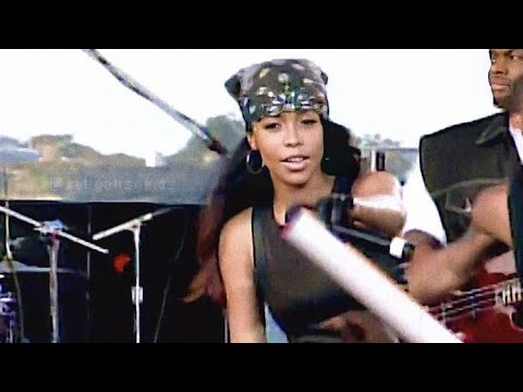 Aaliyah - Try Again [Live On TRL 2000]