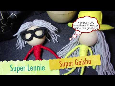 Geisha Davis - Easter Break - Dumpty world