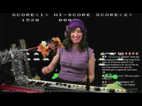 Space Invaders (♫ Live Improv) - Elizaveta