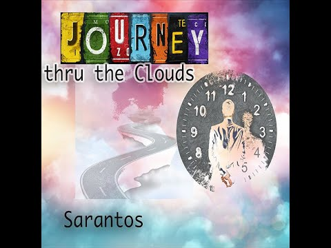 Sarantos Journey thru the Clouds Official Music Video - new age song flying