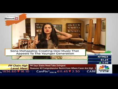 Uniquely Desi | Artist Sona Mohapatra | Swabhiman India on CNBC, CNN, Tv 18