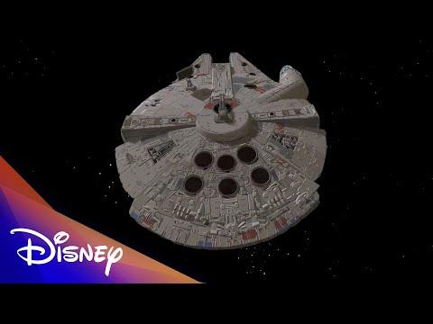 Millennium Falcon VR Art | Disney