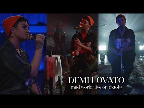 Demi Lovato - Mad World (Live on TikTok)