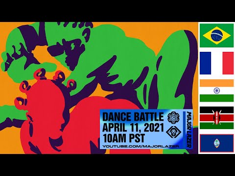 MAJOR LAZER DANCE BATTLE - TUNE IN LIVE ON SUNDAY APRIL 11TH AT 10AM PT