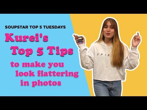 Soupstar's Top 5 Tuesdays - Kurei's Top 5 Tips to make you look flattering in photos