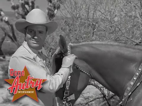 Gene Autry - Cool Water (The Gene Autry Show S1E15 - Gun Powder Range 1950)