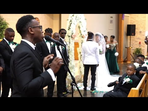 The Bride Is Singing with Brian Nhira ❤️ (Would You Still Love Me?)