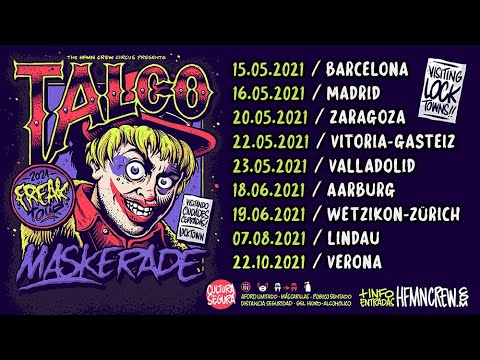 TALCO Maskerade / The first dates for the Freak TOUR