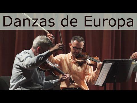 DANZAS DE EUROPA (cuarteto de cuerdas)