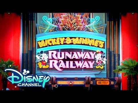 Mickey & Minnie's Runaway Railway with Kyliegh Curran & Preston Oliver | Disney 365 | Disney Channel