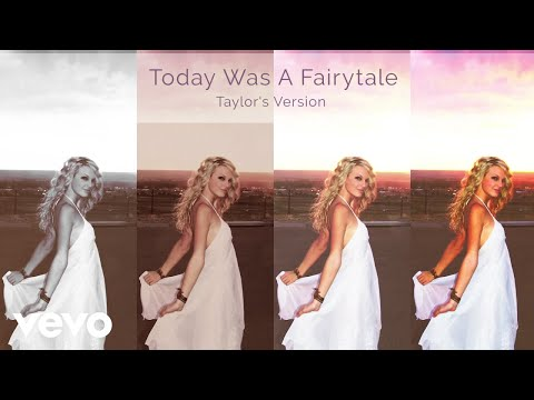 Taylor Swift - Today Was A Fairytale (Taylor's Version) (Lyric Video)