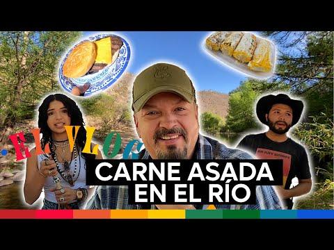 Pepe Aguilar - El Vlog 270 - Carne asada en el río