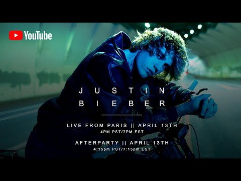 Justin Bieber - Live from Paris (Livestream)