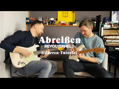 "Revolverheld -  ""Abreißen"" Gitarren-Tutorial"