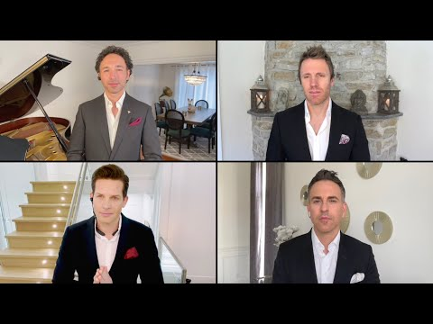 """The Tenors: """"How Great Thou Art"""" Featuring Mark Masri on 100 Huntley Street"""