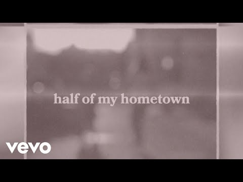 Kelsea Ballerini - half of my hometown (feat. Kenny Chesney) [Official Lyric Video]