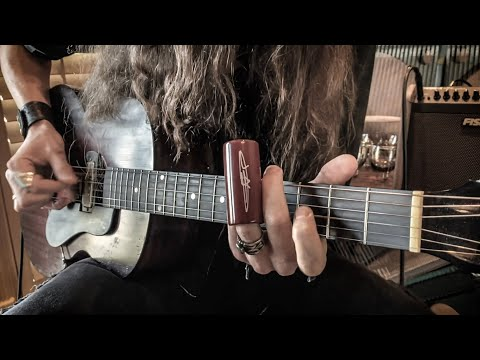 I CAN'T BE SATISFIED by Muddy Waters • Fingerstyle Slide Guitar Version
