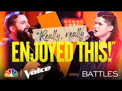 "JD Casper vs. Kenzie Wheeler - Nitty Gritty Dirt Band's ""Fishin' in the Dark"" - Voice Battles 2021"