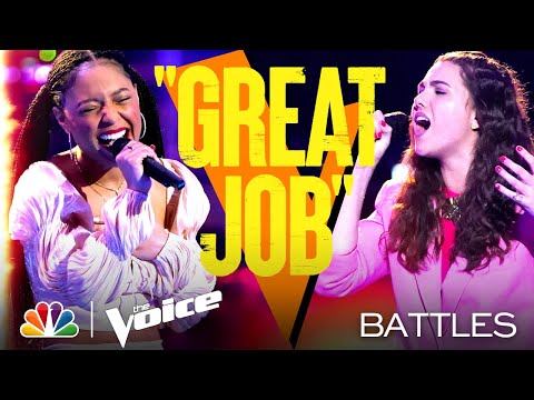"Ainae vs. Anna Grace - Amy Winehouse's ""You Know I'm No Good"" - The Voice Battles 2021"