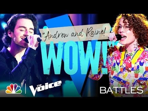 """Raine Stern vs. Andrew Marshall - Harry Styles' """"Adore You"""" - The Voice Battles 2021"""