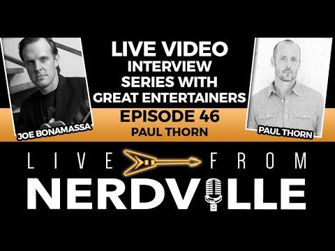 Live From Nerdville with Joe Bonamassa - Episode 46 - Paul Thorn