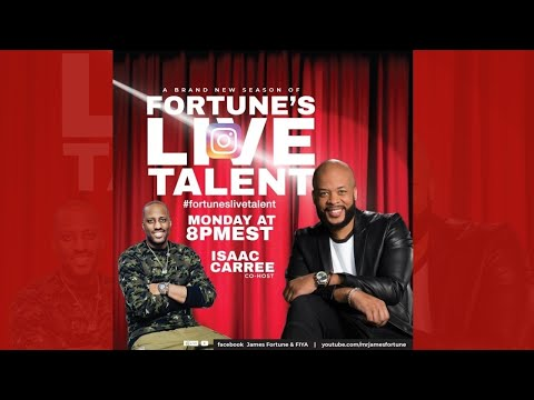 Fortune's Live Talent with James Fortune & Isaac Carree