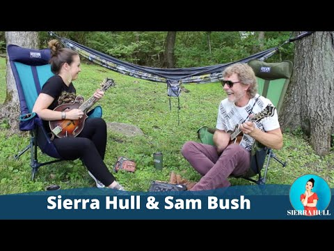 "Sierra Hull + Sam Bush play baseball + perform ""Sugarfoot Rag"""