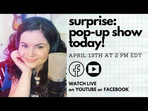 Rebecca Loebe Pop-Up Show!