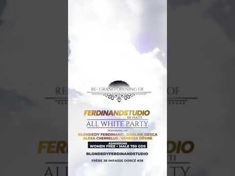 29 avril Blondedy Ferdinand Studio & More ap reouvé e son