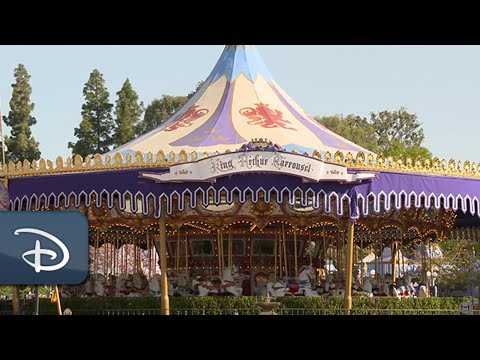 Sneak Peek of the Updated King Arthur Carrousel | Disneyland Resort