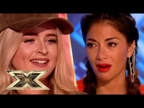 Caitlyn Vanbeck is a FORCE to be reckoned with | The X Factor UK