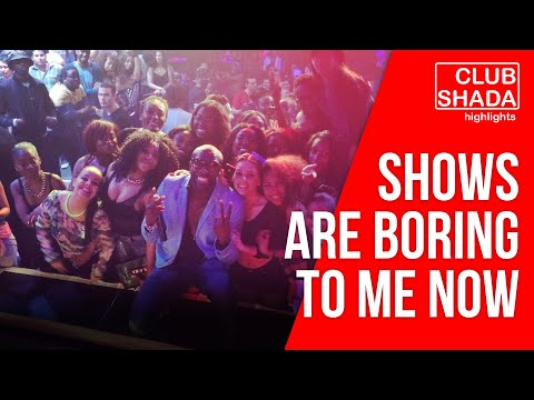 Performing is boring to me now | Joel Amen | Club Shada