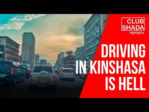 Driving in Kinshasa is a nightmare | Club Shada