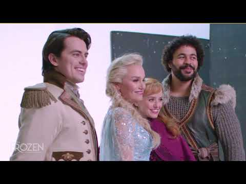 FROZEN the Musical: Cast Photoshoot Behind-the-Scenes