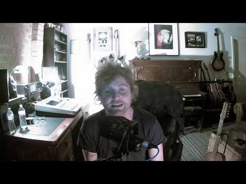 Bob Evans on facebook - live from his garage #3