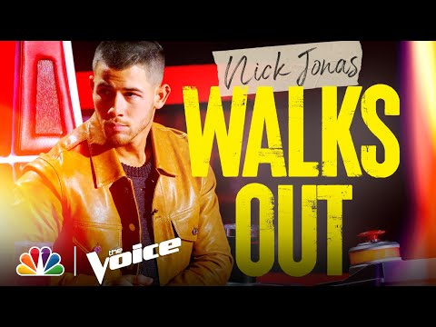 Nick Jonas Leaves, It's a Battle of Epic Proportions and More - The Voice Battles 2021 Outtakes